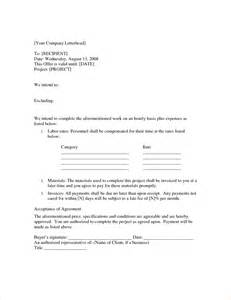 4 Time And Materials Contract Templatereport Template