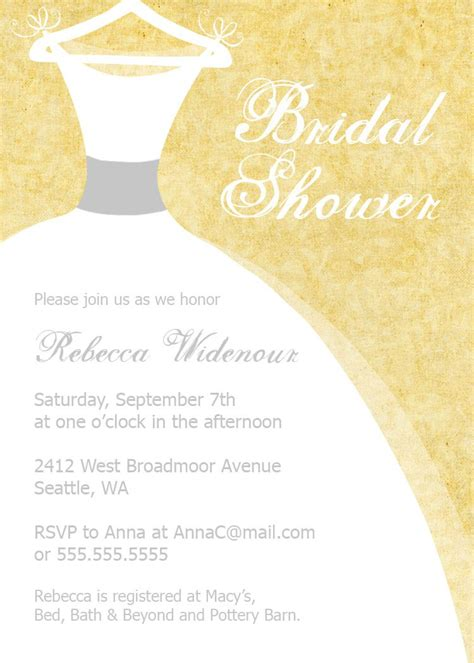Bridal Shower Invitations Free by Bridal Shower Invitation Templates Bridal Shower