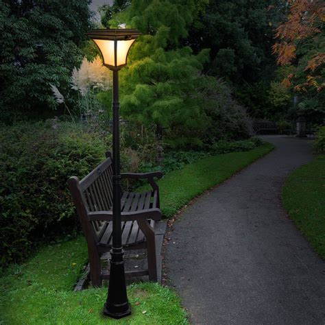 Solar Outdoor Light Post Solar Patio Lights An Inexpensive Way To Brighten Up Your Garden Ward Log Homes