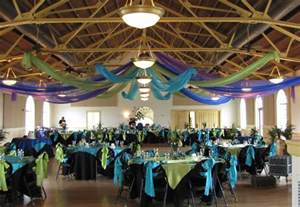 event decorations event decorating company peacock wedding canopy magnolia building lakeland florida
