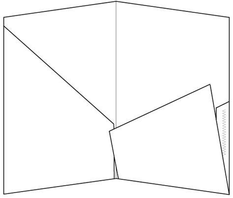 Pocket Folder Black And White Kind Of Letters Pocket Folder Template Indesign