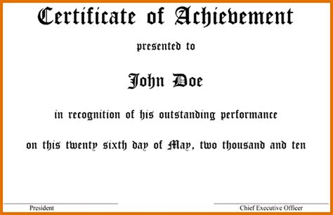 how to make a certificate in wordreference letters words