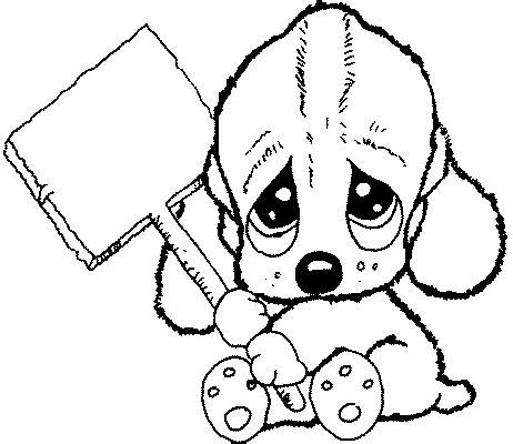imagenes de navidad para colorear tiernas dibujos para colorear de perros beb 233 s tiernos imagui