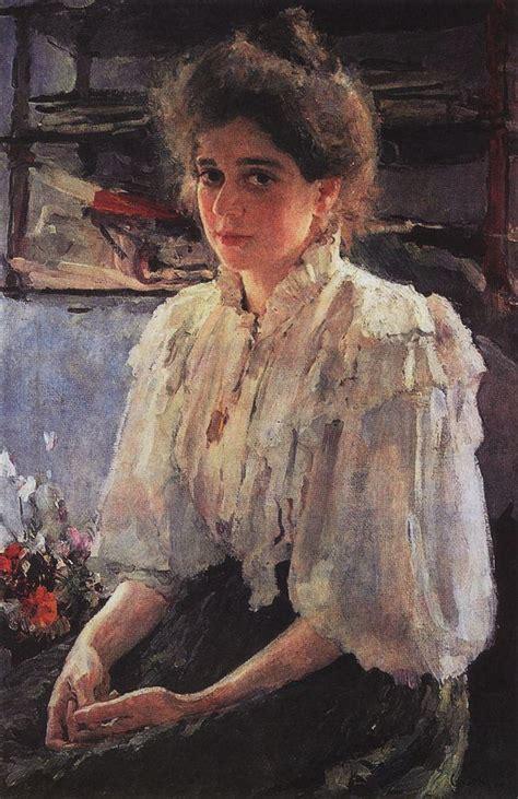 valentin serov portrait of lvova 1895 valentin serov wikiart org