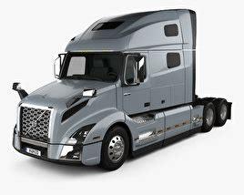 volvo vnr  tractor truck   model vehicles  humd