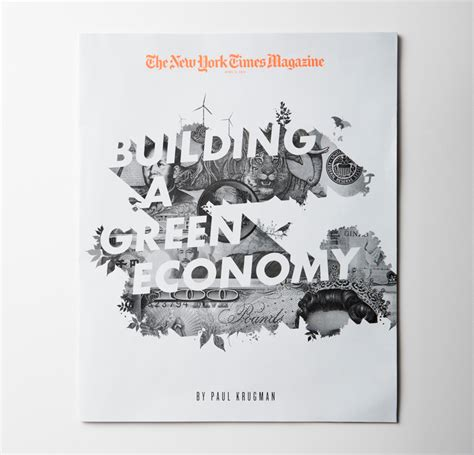 graphis design annual 2012 new york times magazine cover building a green economy