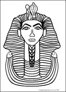 king tut mask template ancient costume fashion king tut tutankhamun