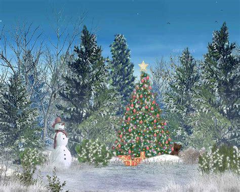 animated christmas desktop background free desktop wallpaper