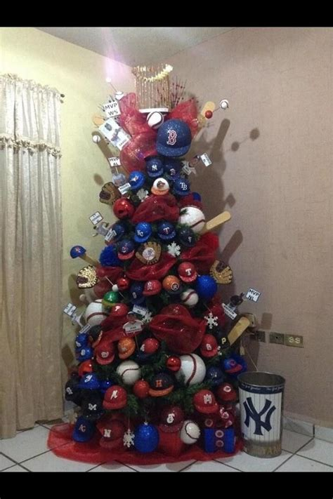 a baseball decorated christmas tree wow crafts