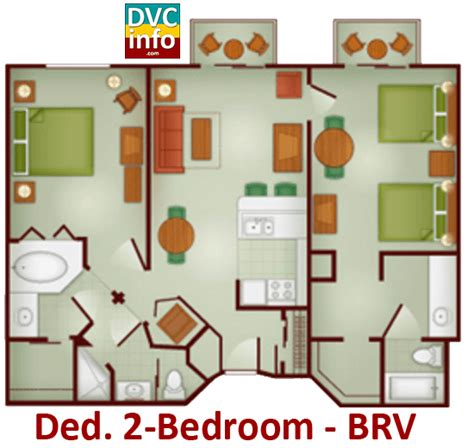 wilderness lodge 2 bedroom villa floor plan boulder ridge villas at disney s wilderness lodge dvcinfo