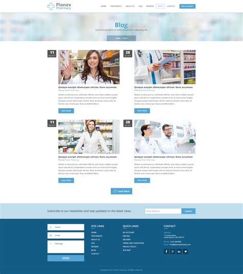blogger templates for hospital pharmacy hospital and medical psd template by webplanex