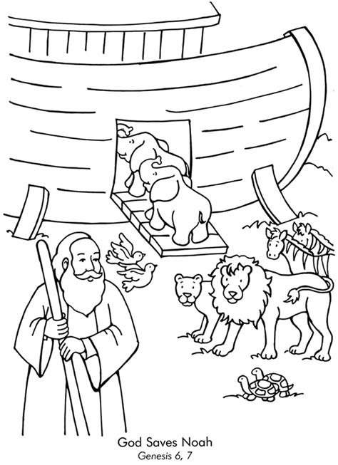 coloring pages for noah s ark noah s ark coloring page