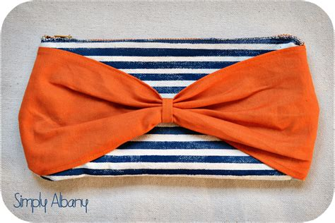 Bow Clutch by Simply Albany Bow Clutch It All Started With A Zipper