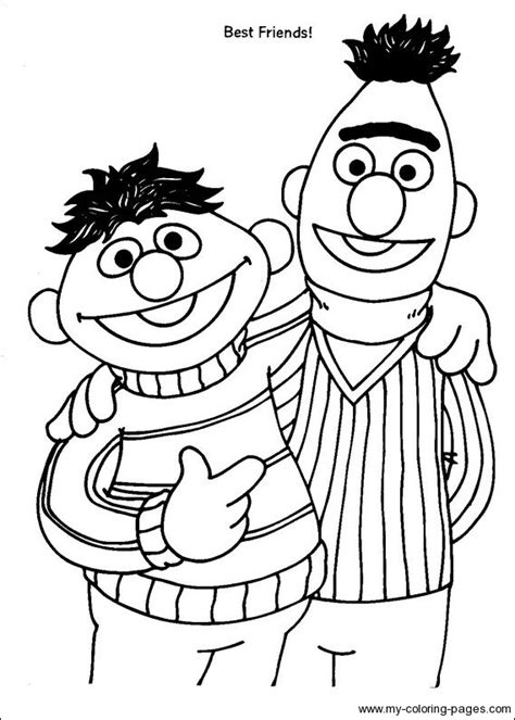 printable coloring pages sesame street printable sesame street characters coloring pages 570647