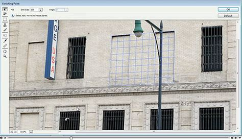photoshop cs5 vanishing point tutorial cloning with perspective with the vanishing point filter