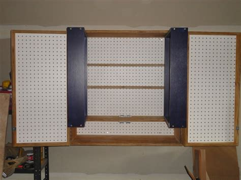 Pegboard Cabinet Doors Pegboard Cabinet Doors Remodelaholic Build An Organized Pegboard Tool Cabinet And Simple