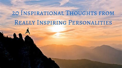 inspirational thoughts   inspiring