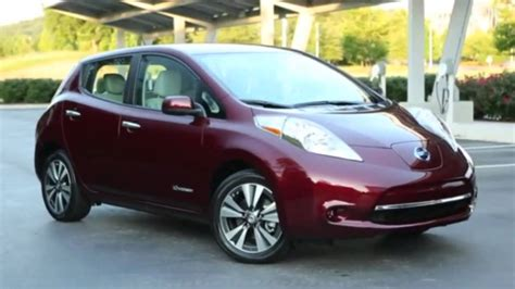 nissan leaf 2016 interior 2016 nissan leaf interior exterior driving test