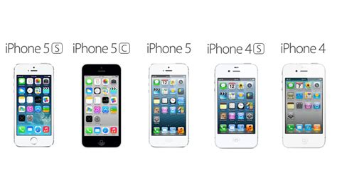 Iphone 4 4s 5 5s comparison between iphone 5s iphone 5c iphone 5 iphone