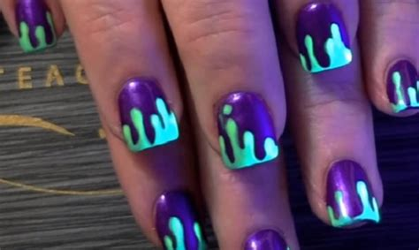 slime nail tutorial amazingnailart org