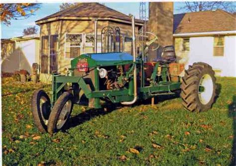tractor built from scratch tractors farm