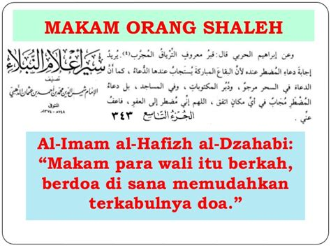 Agar Doa Dikabulkan Allah Mansur Abdul Hakim konsep tabaruk