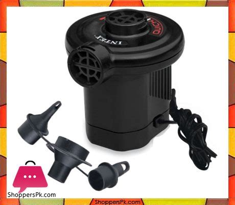 Intex 66620 Ac Electric Air With Adaptor intex fill electric 66620 shoppers pakistan