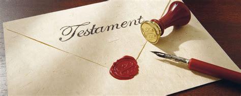 testamento di presunzione di verit 224 della data apposta al testamento