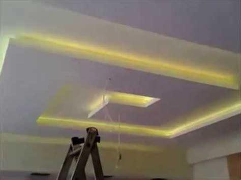 placoplatre ba13 faux plafond avec led
