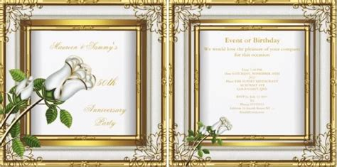 50th Wedding Anniversary Gift Etiquette by Etiquette For 50th Wedding Anniversary Gifts Gift Ftempo