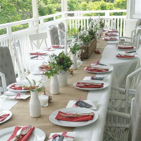 17 best ideas about casual table settings on - Lunch Table Setting Ideas