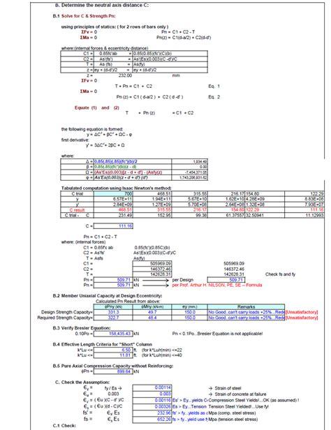 design engineer outlook interaction diagram for steel beam 34 wiring diagram