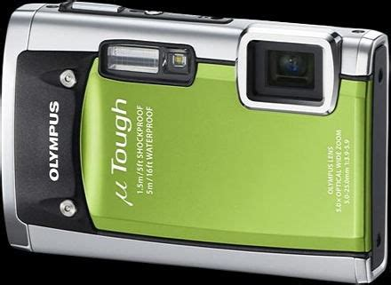 Kamera Olympus U Tough 6020 olympus stylus tough 6020 mju tough 6020