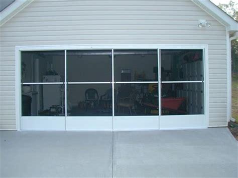 Garage Door Screen Panels by Garage Screens