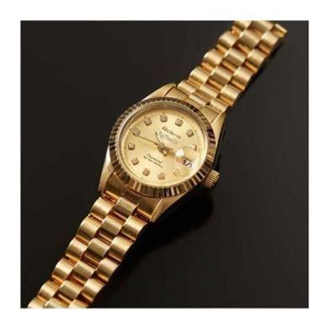 Jam Tangan Rolens mncshop home shopping jam tangan rolens all gold mnc shop