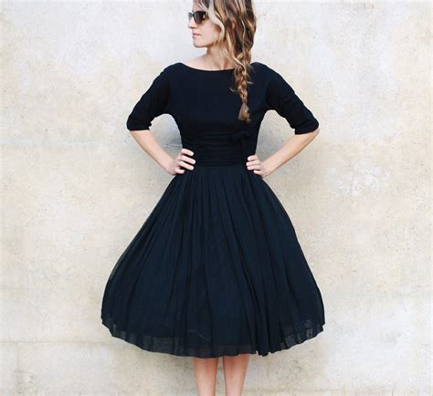 vintage cocktail party black vintage cocktail dress trendy dress