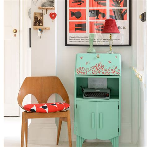 vintage retro hallway hallway decorating ideas ideal home
