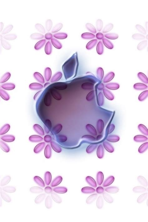 wallpaper flower iphone 4 purple flowers and apple iphone 4 wallpapers free 640x960