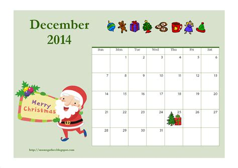 december 2014 calendar template 7 best images of free printable calendar