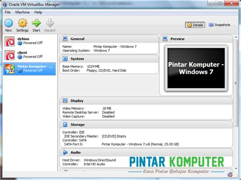 tutorial instal windows 10 di virtualbox tutorial cara menginstall windows 7 di virtualbox pintar