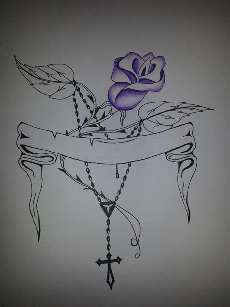 the rose and rosary by jason1985williams on deviantart