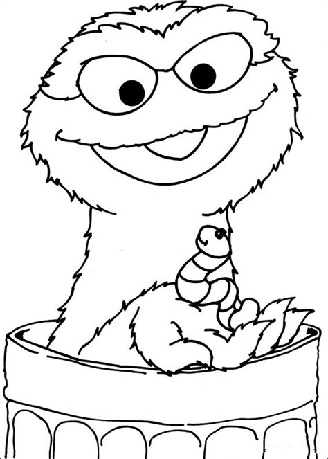 Printable Coloring Pages Sesame Street | free printable sesame street coloring pages for kids