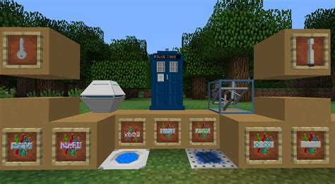 download game console mod 1 7 10 1 7 10 doctor who tardis mod installer