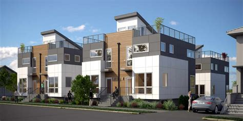 parc west townhomes isola homes