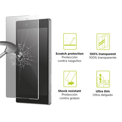 Screen Protectors M A K ksix screen protector tempered glass 9h for meizu