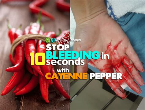 how to stop bleeding on a how to stop bleeding in 10 seconds with cayenne pepper home remedies simple