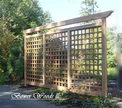 Backyard Trellis by Bower Woods Llc Custom Garden Structures Tuscan Trellis Backyard Ideas Garden
