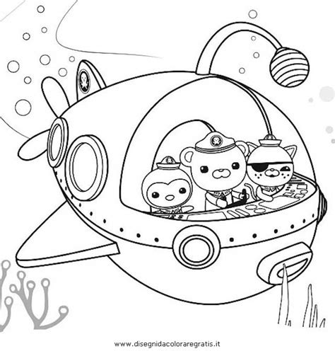 free coloring pages of octonauts drawings