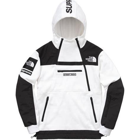 Kaos Tshirt Supreme Tnf Black wtb supreme x the steep tech hoodie