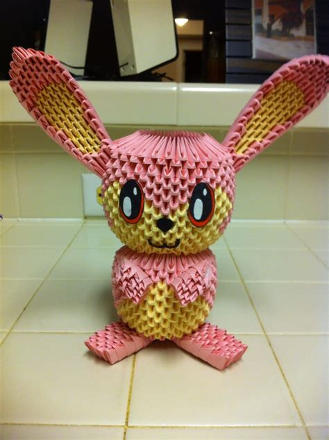 3d Origami Bunny - 17 best images about origami 3d on quilling